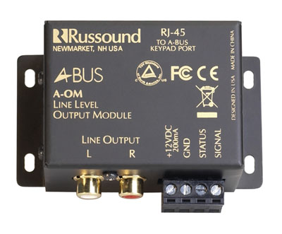 A-BUS Line Level Output Module