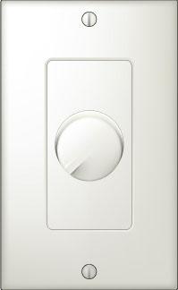 126W Volume Control, Decora plate